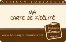 Carte Boulangerie.La Carte De Fidelite Boulangerie Louise