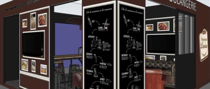 venez nous voir au salon de la franchise boulangerie louise. Black Bedroom Furniture Sets. Home Design Ideas