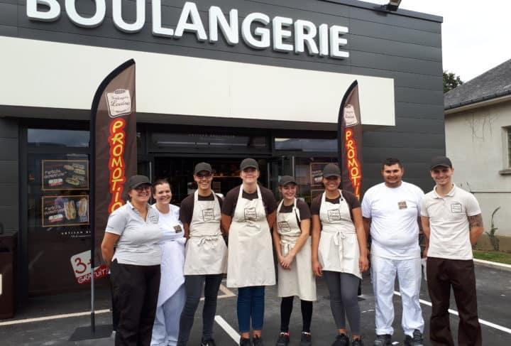 Ouverture boulangerie Louise Azé